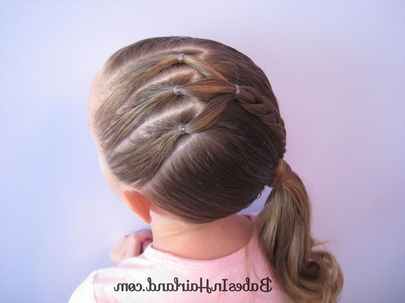 Ponies And A Diagonal Braid – Babes In Hairland Throughout Diagonally Braided Ponytail Hairstyles (View 7 of 25)
