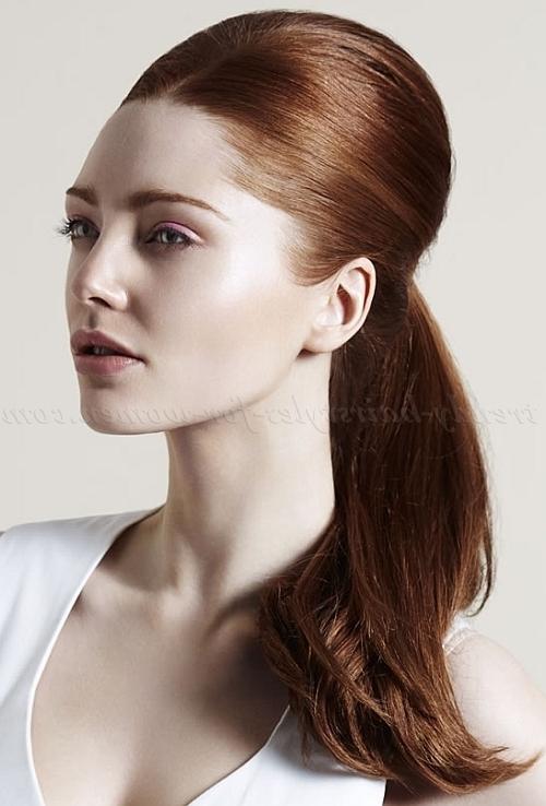 Ponytail Hairstyles – Elegant Ponytail | Trendy Hairstyles For Women In Long Elegant Ponytail Hairstyles (View 25 of 25)