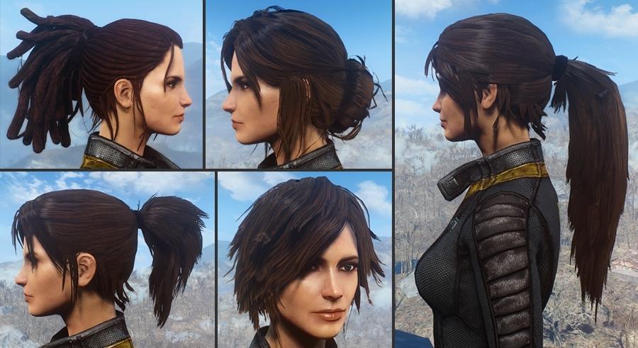 Ponytail Hairstylesazar V (View 5 of 25)