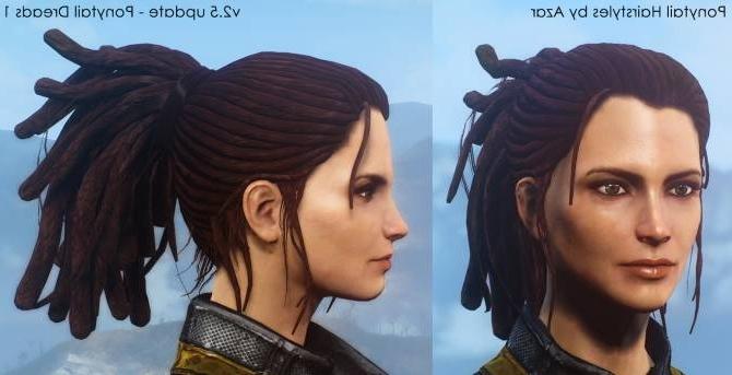 Ponytail Hairstylesazar V (View 17 of 25)