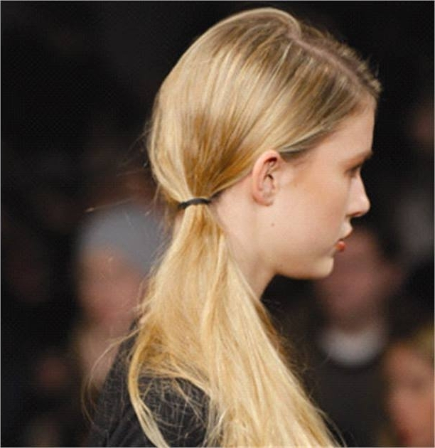 Ponytails And Braids From The Runway – Inspiration – Modern Salon Pertaining To Artistically Undone Braid Ponytail Hairstyles (View 24 of 25)