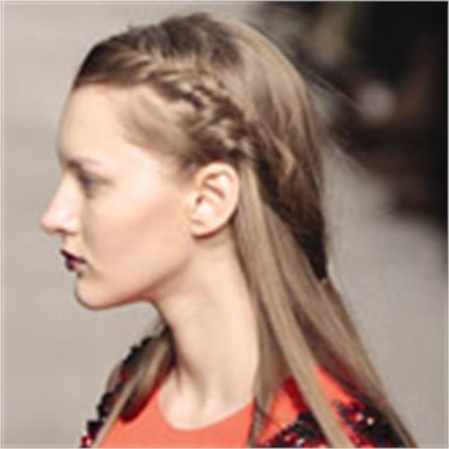 Ponytails And Braids From The Runway – Inspiration – Modern Salon Throughout Artistically Undone Braid Ponytail Hairstyles (View 12 of 25)