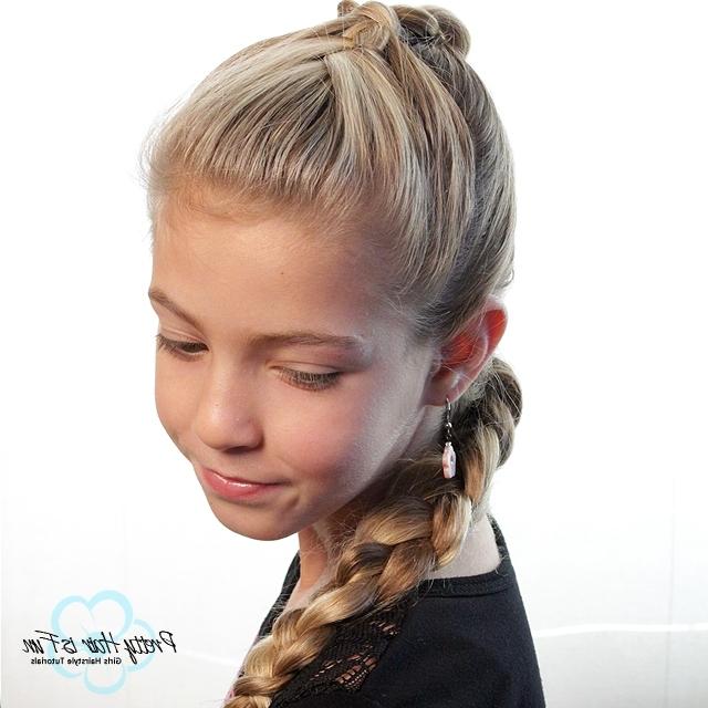 Pretty Hair Is Fun: French Braid/ Dutch Braid Combo – Pretty Hair Is For Pony And Dutch Braid Combo Hairstyles (View 24 of 25)
