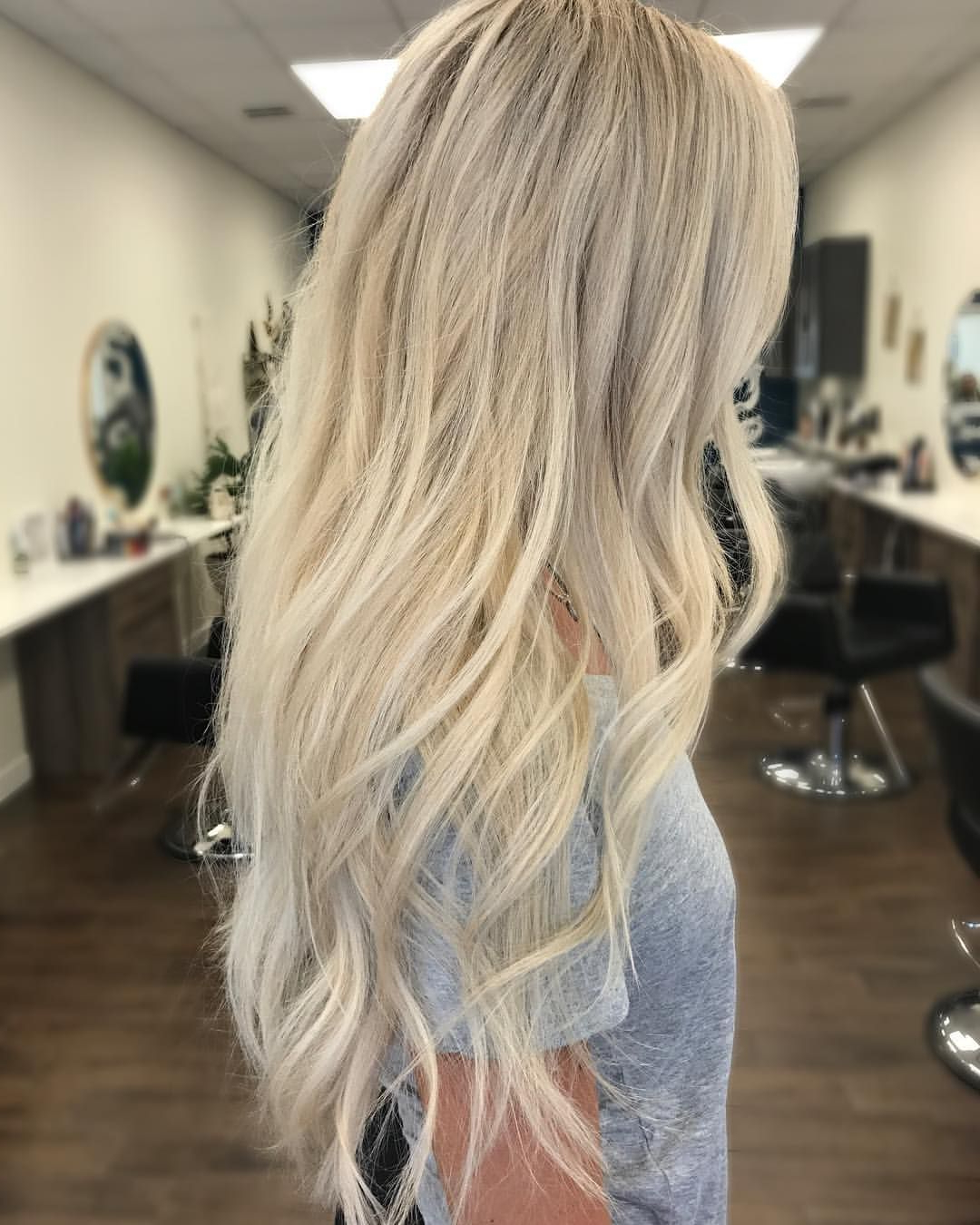 Pretty Long Hair | Hair And Makeup | Pinterest | Blonde Color With Regard To Angelic Blonde Balayage Bob Hairstyles With Curls (View 6 of 25)