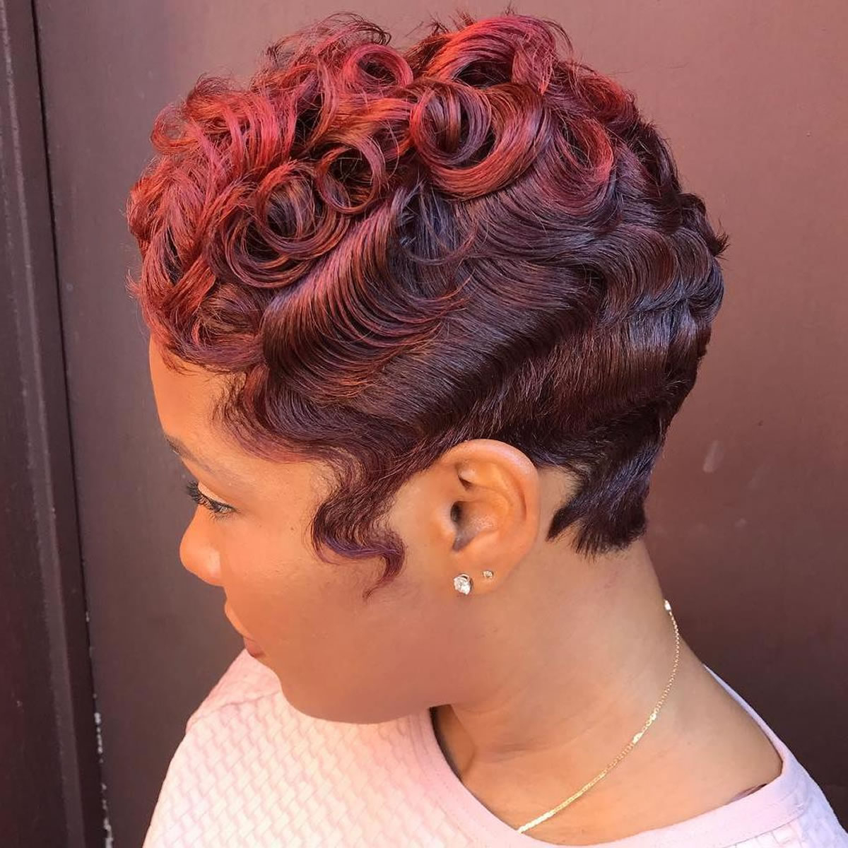 Pretty Pixie Short Haircuts For African American Women 2017 – Hairstyles With Short Haircuts For Black (View 16 of 25)