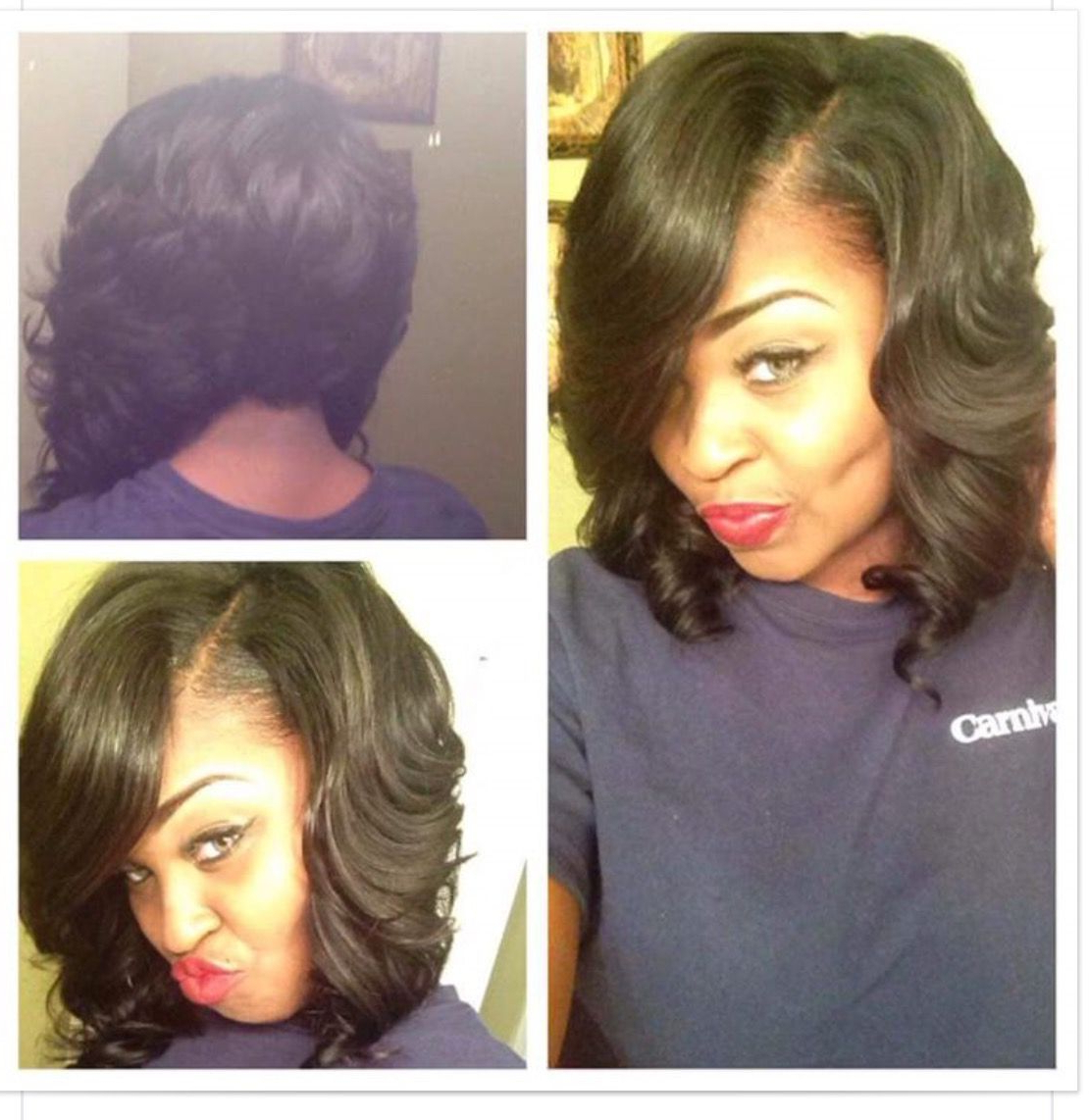 Prettyrare | Xcutlife O B S E S S I O N S In 2018 | Pinterest | Hair For Bouncy Curly Black Bob Hairstyles (View 24 of 25)