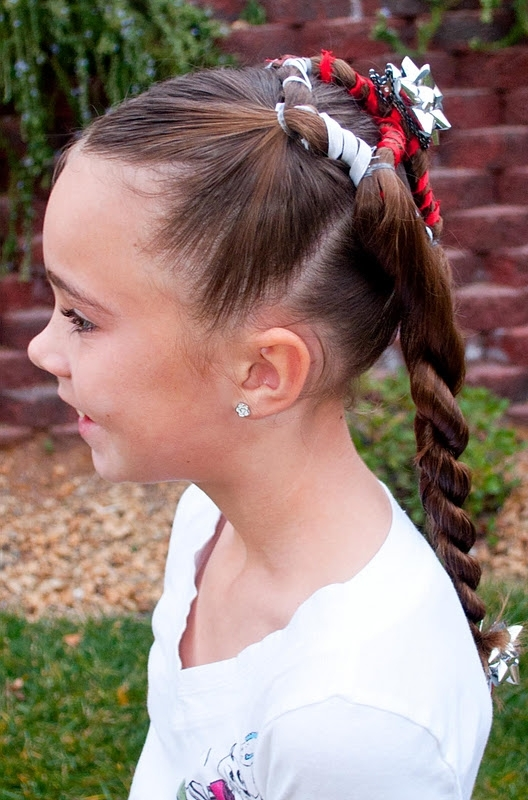 Princess Piggies: Holiday Hairstyles: Present With Loosey Goosey Ponytail Hairstyles (View 24 of 25)