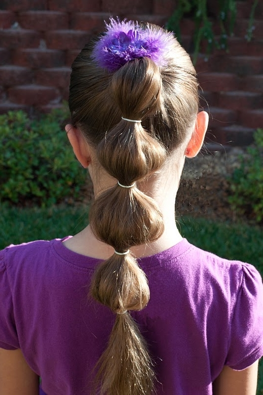 Princess Piggies: Puffy Ponytail Inside Loosey Goosey Ponytail Hairstyles (View 10 of 25)