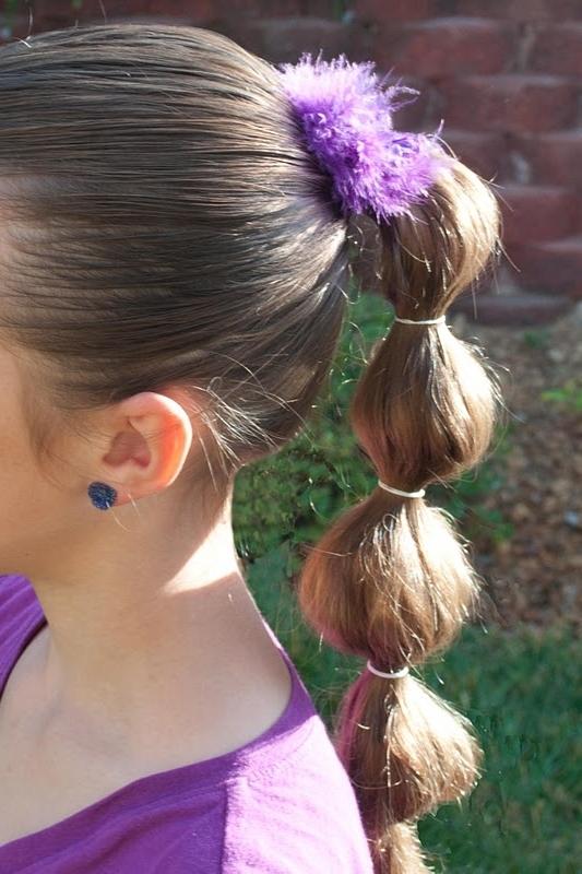 Princess Piggies: Puffy Ponytail Regarding Loosey Goosey Ponytail Hairstyles (View 13 of 25)