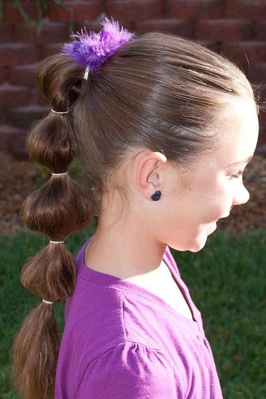 Princess Piggies: Puffy Ponytail Throughout Loosey Goosey Ponytail Hairstyles (View 14 of 25)