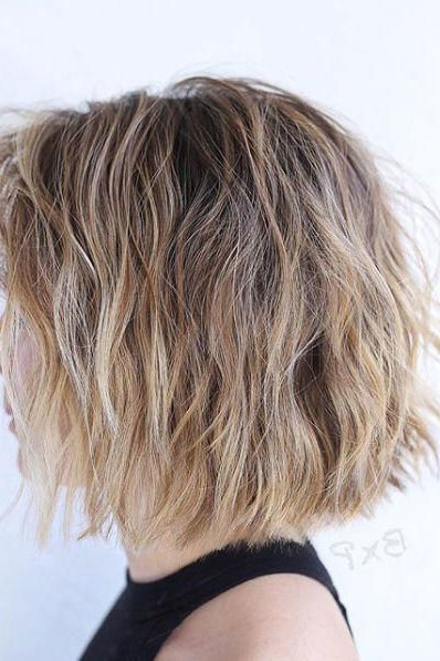 Proof That Beach Waves Were Made For Shoulder Length Hair In 2018 Intended For Tousled Beach Bob Hairstyles (View 12 of 25)