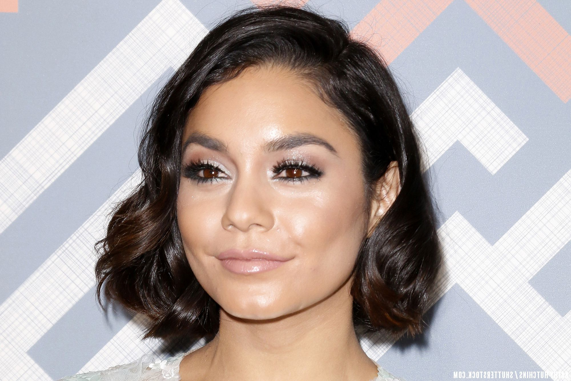 Proof Vanessa Hudgens' Short Hair Is Nothing But Glam | Celebrity Intended For Vanessa Hudgens Short Hairstyles (View 3 of 25)