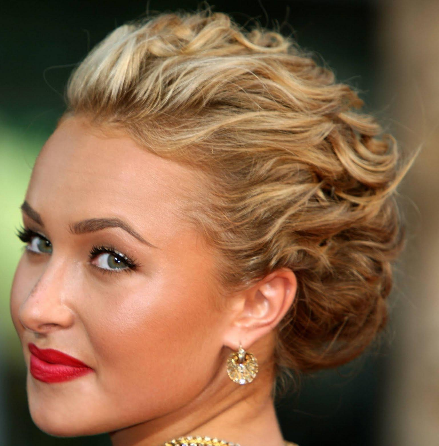 Quick Hairstyles For Short To Medium Hair | Hairstyles For Women Within Special Occasion Short Hairstyles (View 16 of 25)