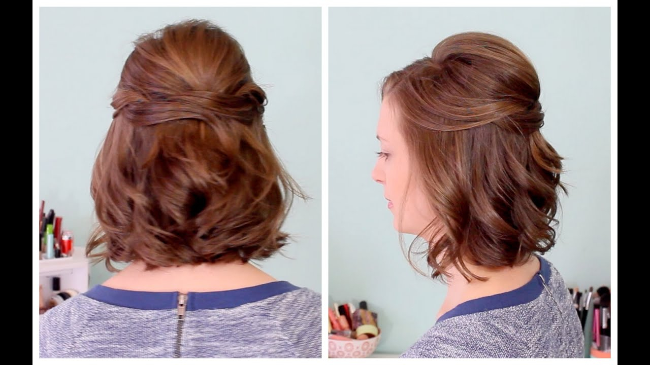 Featured Photo of Half Up Half Down Short Hairstyles