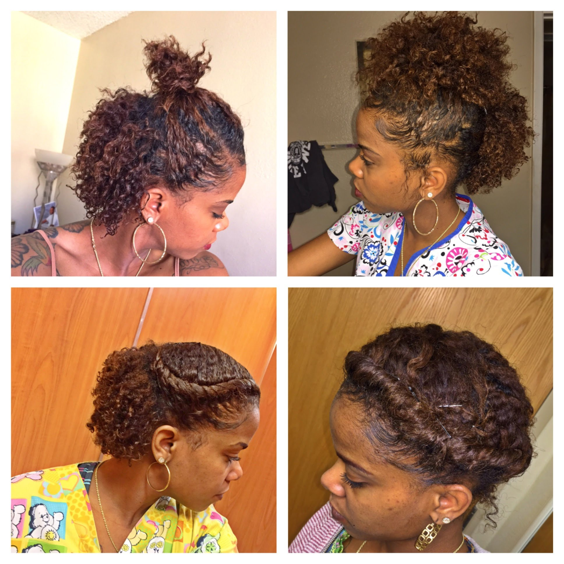 Quick Natural Hairstyles For Short Hair – Leymatson Inside Naturally Curly Short Hairstyles (View 10 of 25)