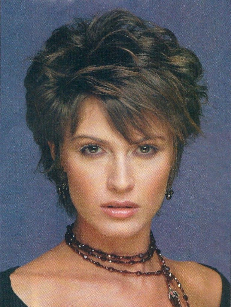 Razor Layered Haircuts Layered Short Choppy Razor Cut For Women Over With Razor Cut Short Hairstyles (View 15 of 25)