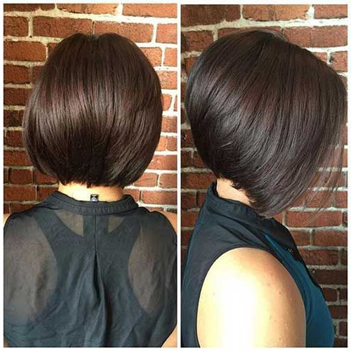 Really Trending Short Stacked Bob Ideas In 2018 | Bob Hairstyles With Regard To Short Stacked Bob Blowout Hairstyles (View 8 of 25)