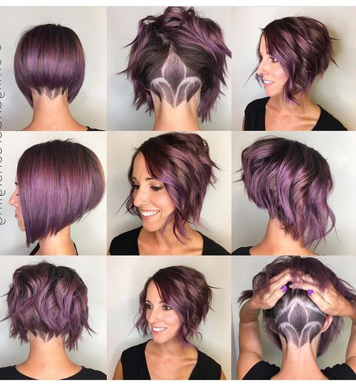 Really Trending Short Stacked Bob Ideas In 2018   Hair Is Our Glory For Two Tone Curly Bob Haircuts With Nape Undercut (View 2 of 25)
