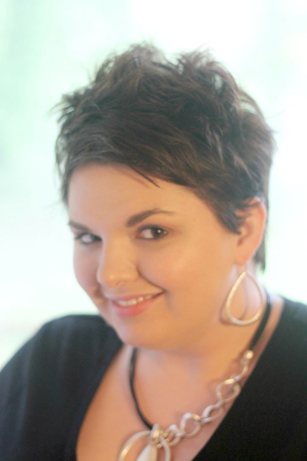 Recommended Hairstyles For Big Women: Short Cuts Hairstyles For Big With Regard To Fat Short Hair (View 2 of 25)