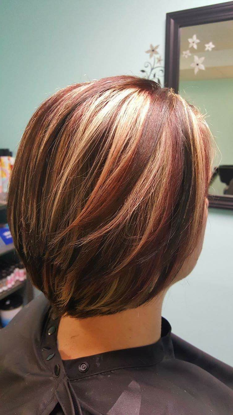 Red And Blonde Highlights | Hairmollie | Pinterest | Hair, Hair Throughout Short Haircuts With Red And Blonde Highlights (View 6 of 25)