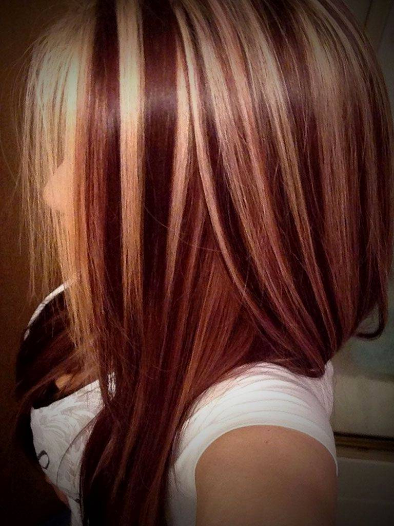 Featured Photo of Short Haircuts With Red And Blonde Highlights