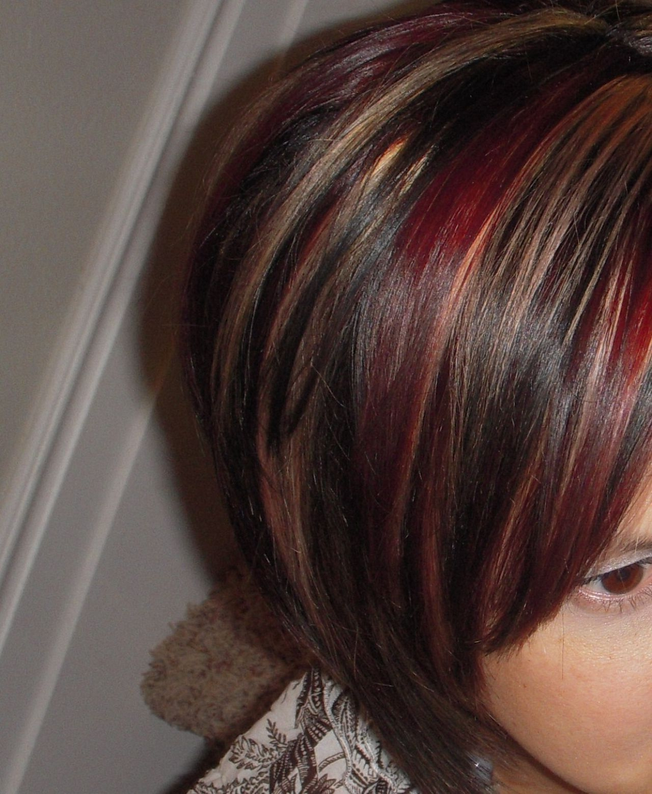 Red Blonde And Brown Highlights Short Hair – The Best Short Hair 2018 Intended For Short Haircuts With Red And Blonde Highlights (View 25 of 25)