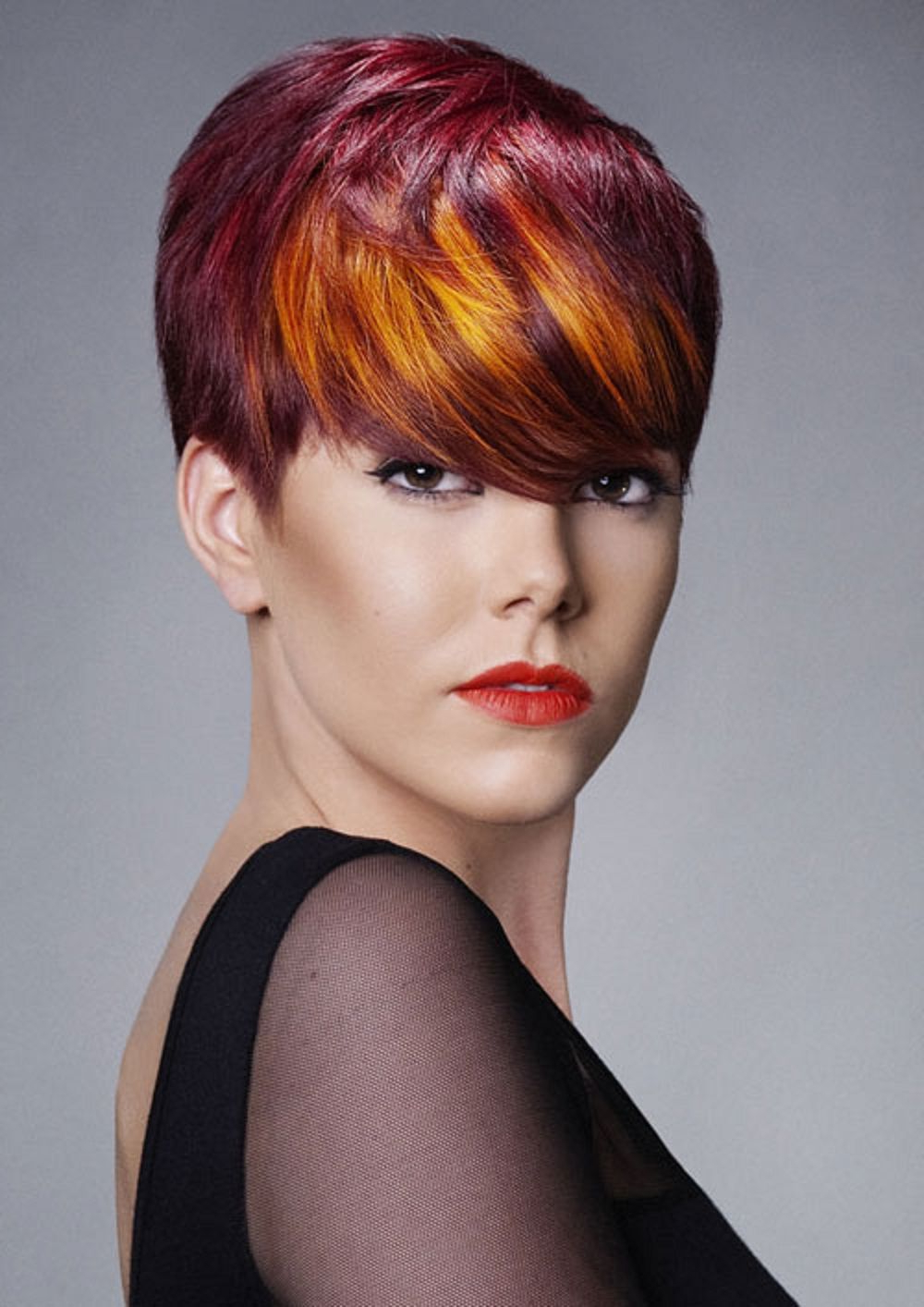 Red Hair Color For Short Hair | Hair Styles | Pinterest | Red Hair Regarding Short Hairstyles With Red Hair (View 14 of 25)
