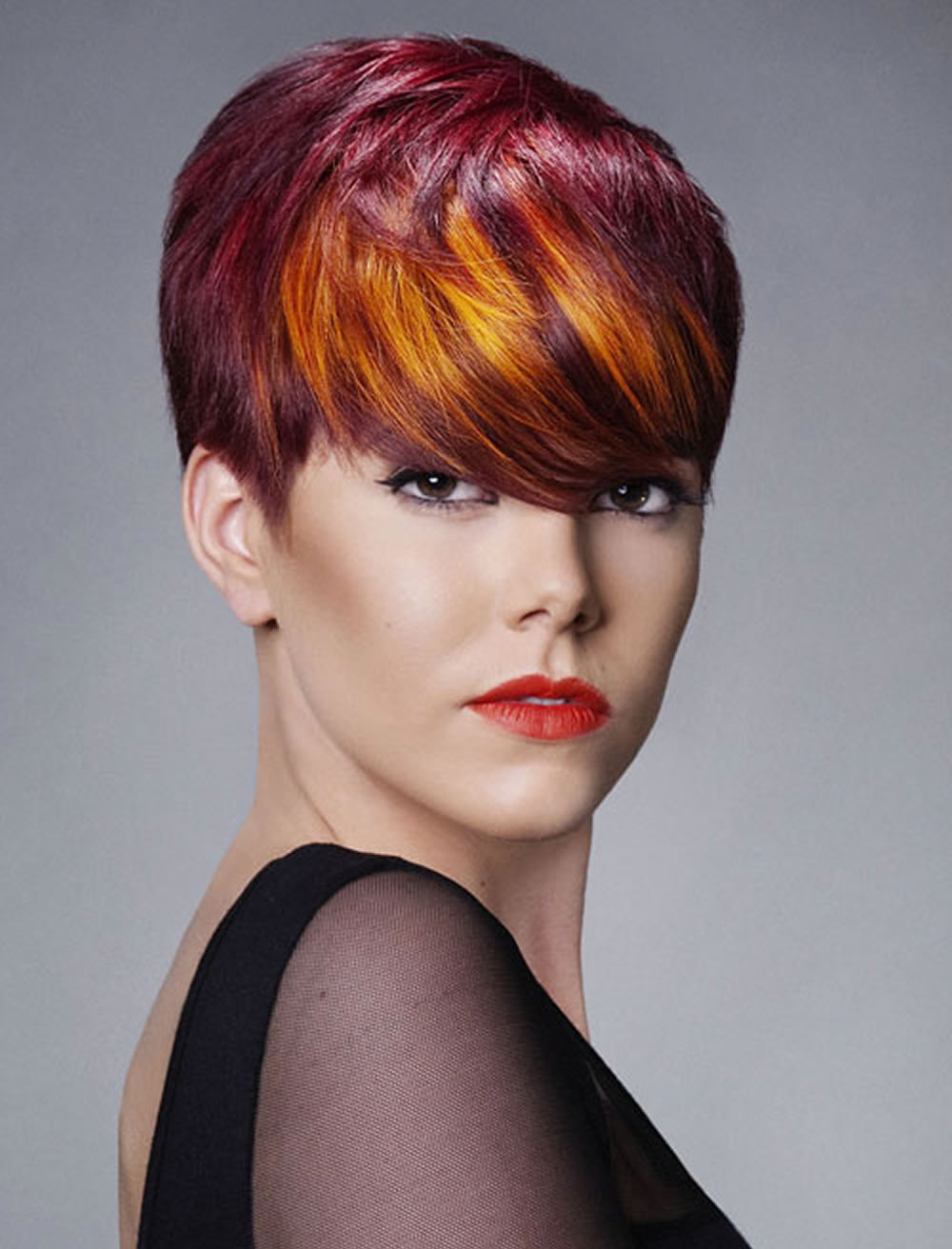 Red Hair Color For Short Hairstyles | 27 Cool Haircut Tutorial For Intended For Short Hairstyles For Red Hair (View 8 of 25)