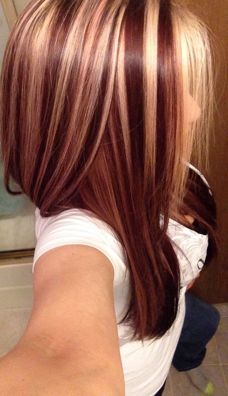 Red Hair Highlights For Short Hair Short Hairstyles With Blonde And With Regard To Short Hairstyles With Red Hair (View 23 of 25)