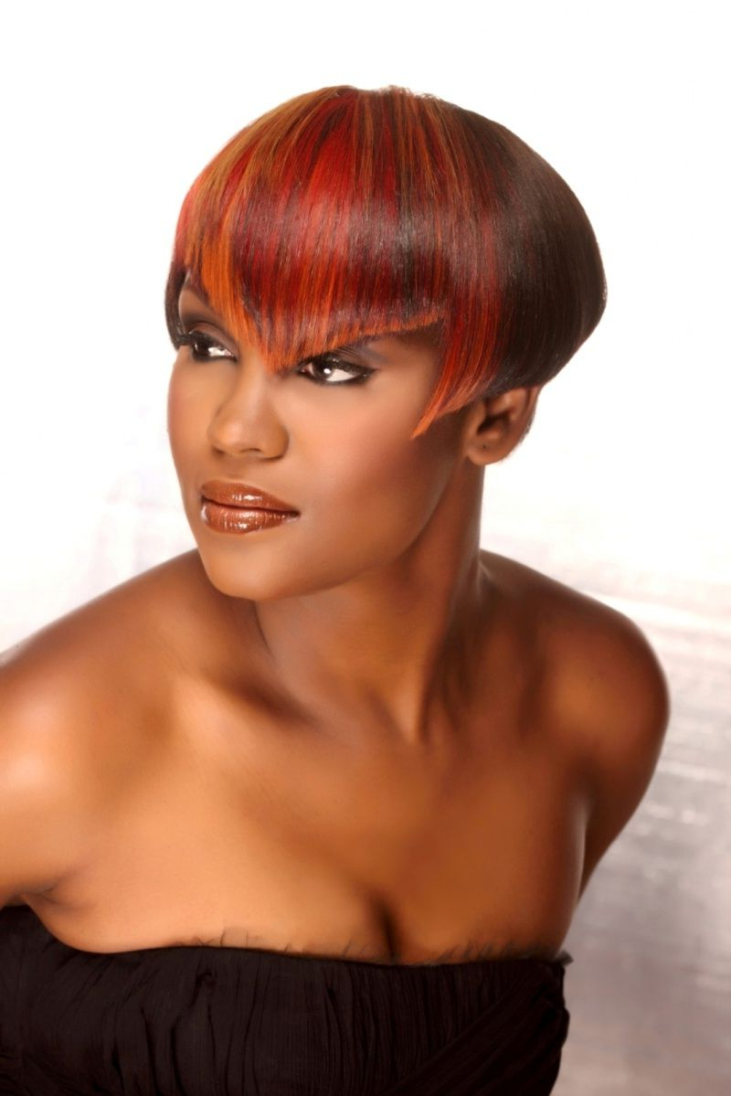 Red Short Black Women Haircut | Textured Hair | Pinterest | Latest Within Red Short Hairstyles (View 20 of 25)