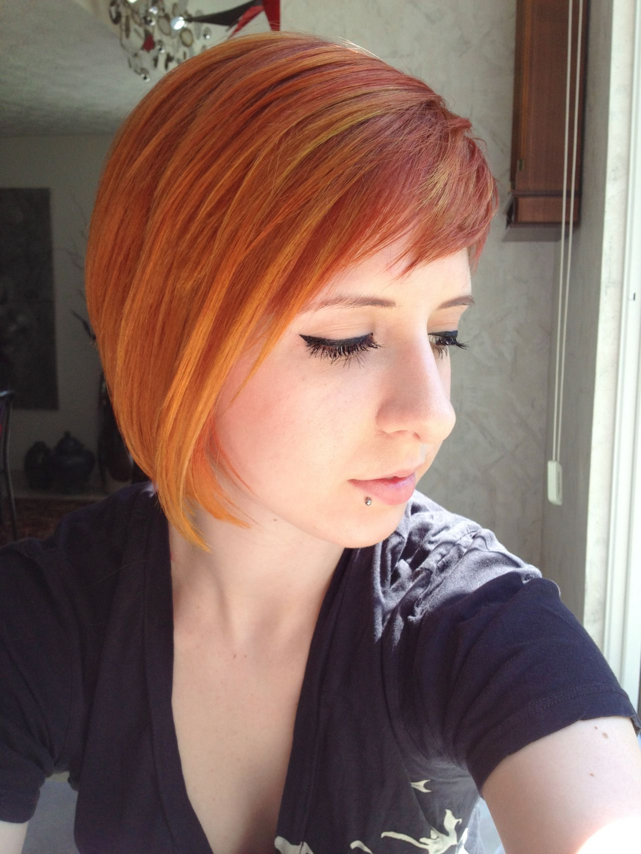 Red Short Hairstyle With Highlights   Red Short Hairstyles, Red Inside Red Short Hairstyles (View 6 of 25)