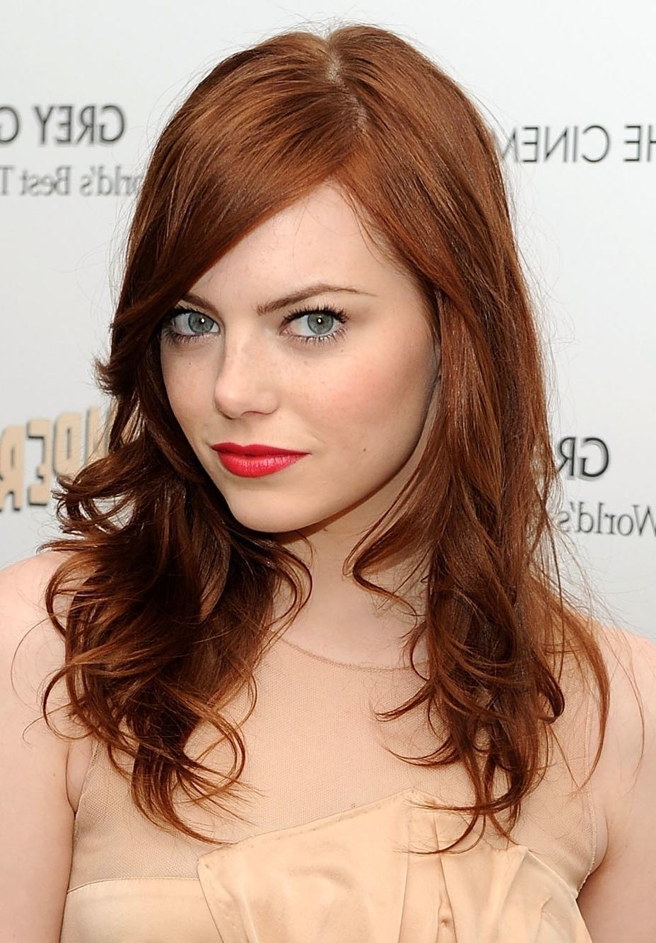 Redheads, The Best Haircut For Your Shape Face In Short Hairstyles With Red Hair (View 8 of 25)