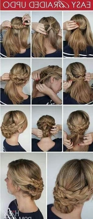 Regal Looking& Easy To Create | Summer Braiding | Pinterest | Hair With Regal Braided Up Do Ponytail Hairstyles (View 3 of 25)
