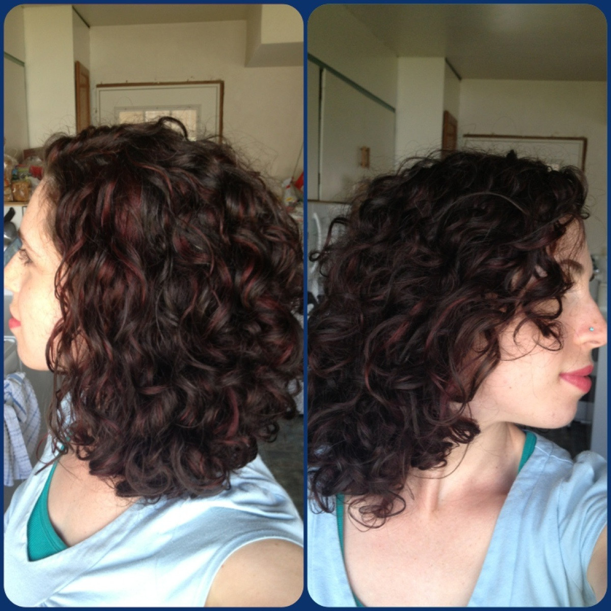 Reposted From Fancyfollicles: Red / Violet Highlights In A Sea Of In Brown Curly Hairstyles With Highlights (View 24 of 25)
