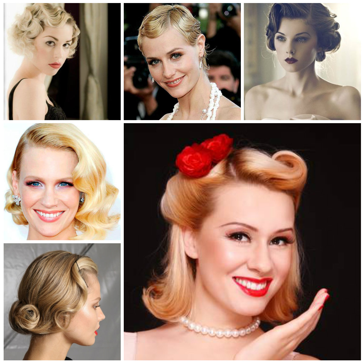 Retro Hairstyles | Hairstyles For Women 2019, Haircuts For Long Throughout Vintage Hairstyle For Short Hair (View 6 of 25)