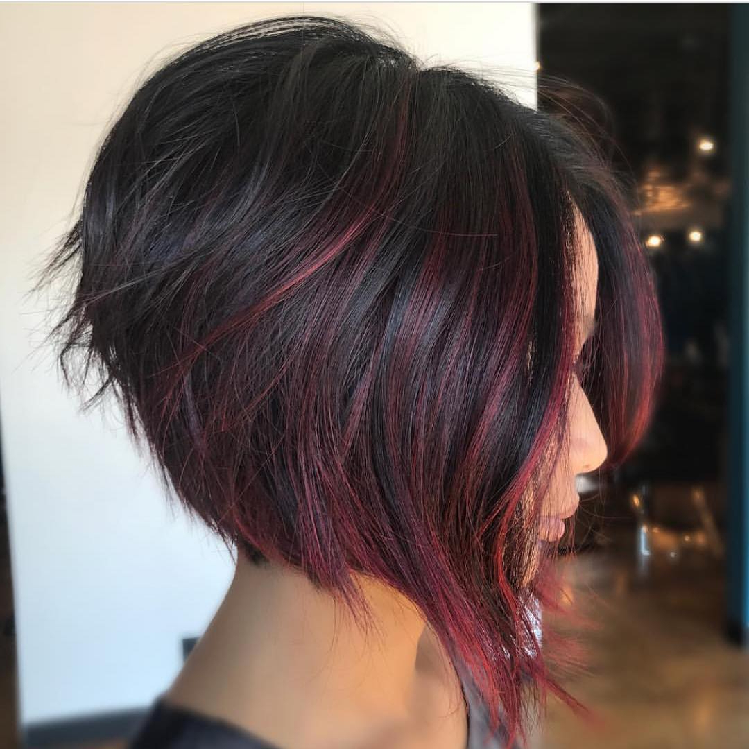 Reverse Bob Haircuts Inverted Bob Haircuts And Hairstyles 2018 With Inverted Short Haircuts (View 9 of 25)