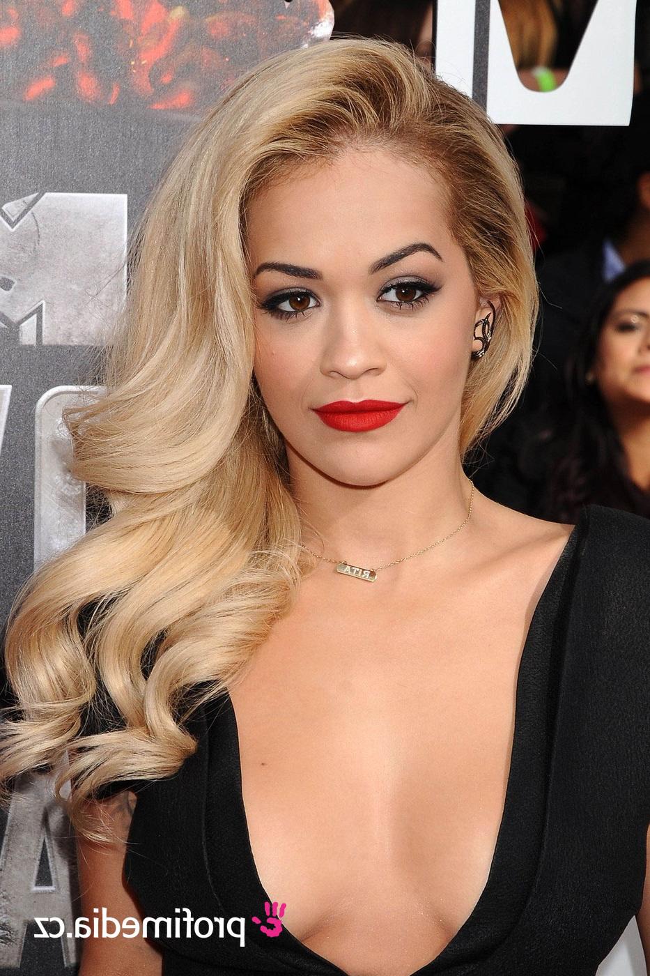 Rita Ora – – Hairstyle – Easyhairstyler Throughout Rita Ora Short Hairstyles (View 23 of 25)