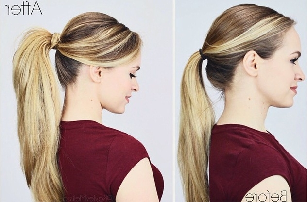Rock A Classic Ponytail For Back To School Here's How With Regard To Long Classic Ponytail Hairstyles (View 10 of 25)