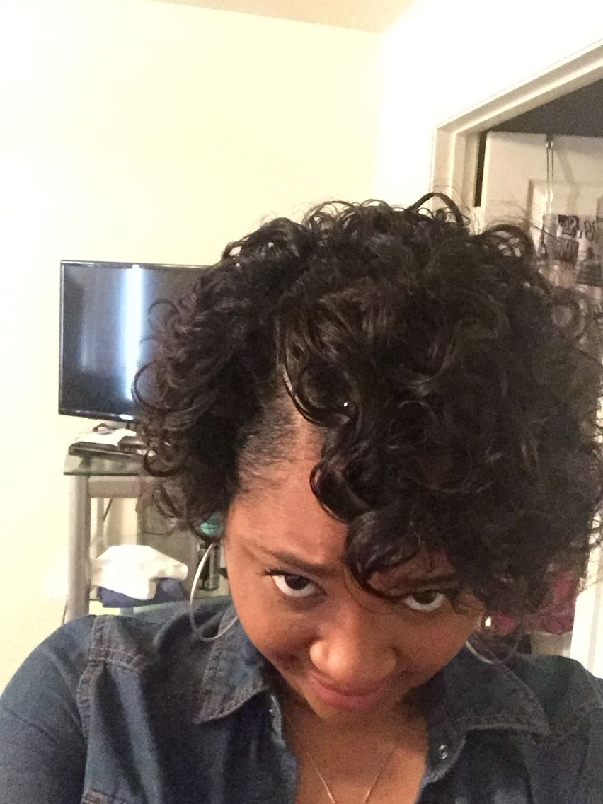 Roller Set On Short Relaxed Hair | Hair In 2018 | Pinterest | Hair Intended For Short Haircuts For Relaxed Hair (View 25 of 25)