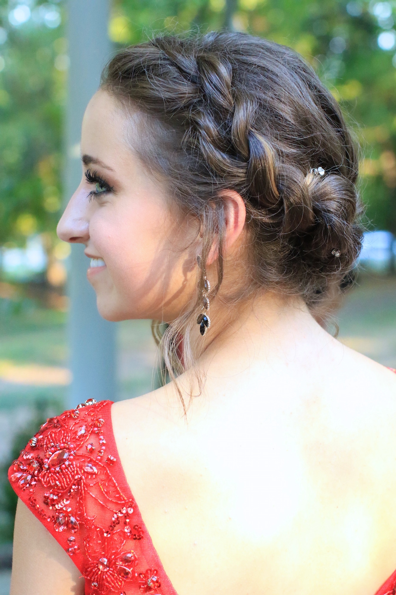 Rope Twist Updo   Homecoming Hairstyles   Cute Girls Hairstyles In Homecoming Short Hair Styles (View 17 of 25)