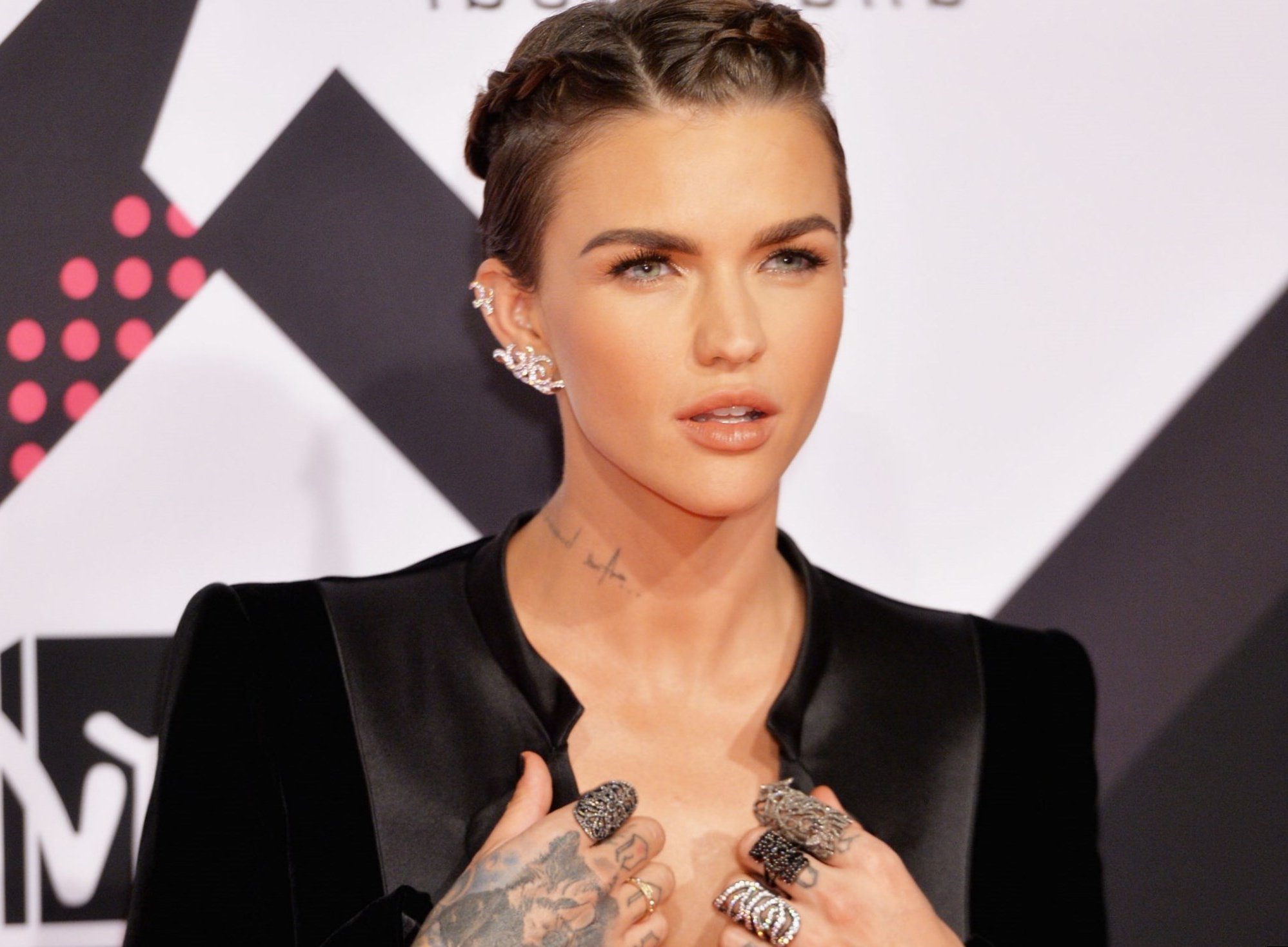 Ruby Rose Celebrity Hair Changes (View 12 of 25)