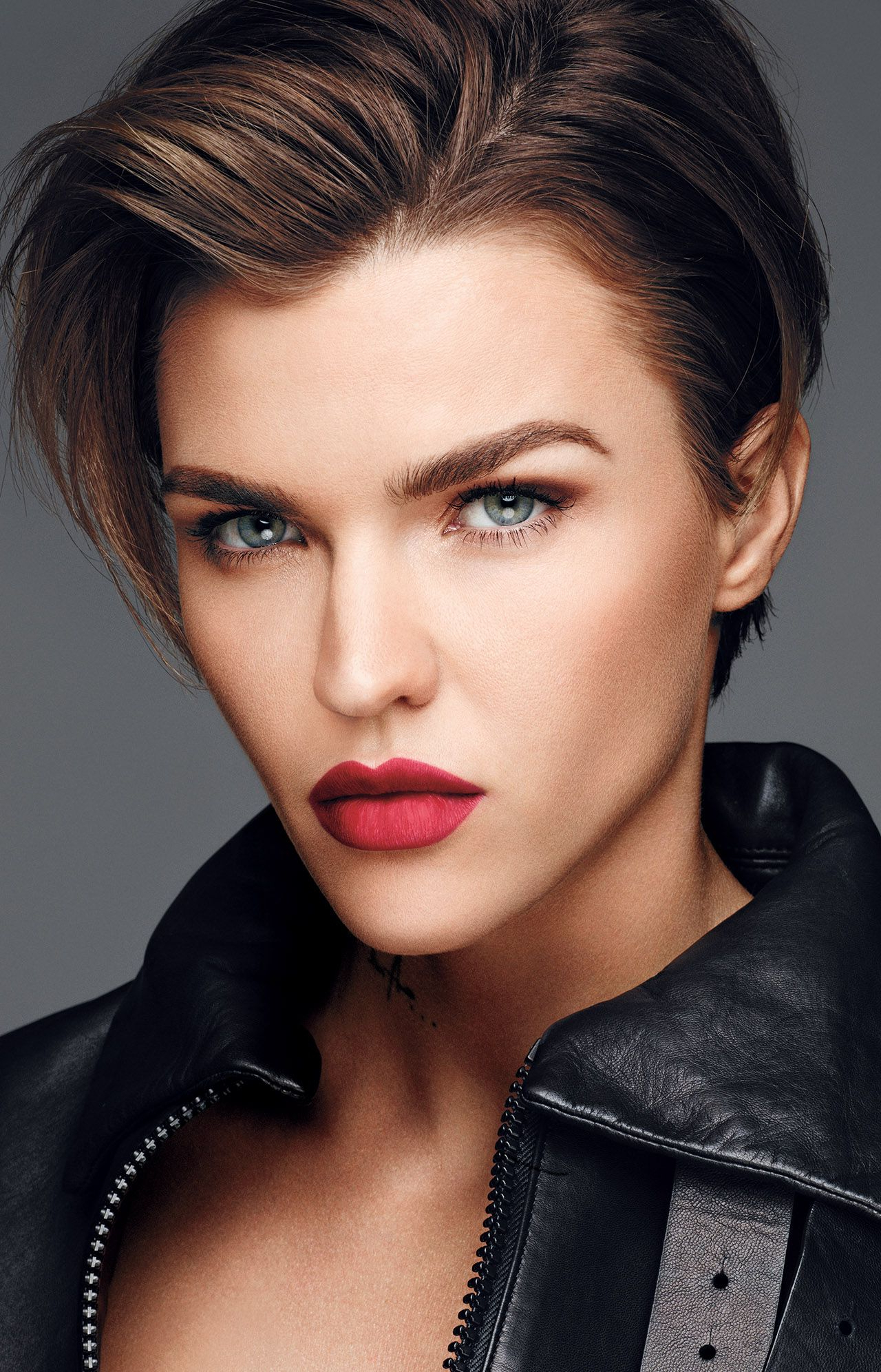 Ruby Rose Source:l'oréal | Ruby Rose In 2018 | Pinterest | Ruby Rose With Ruby Rose Short Hairstyles (View 21 of 25)