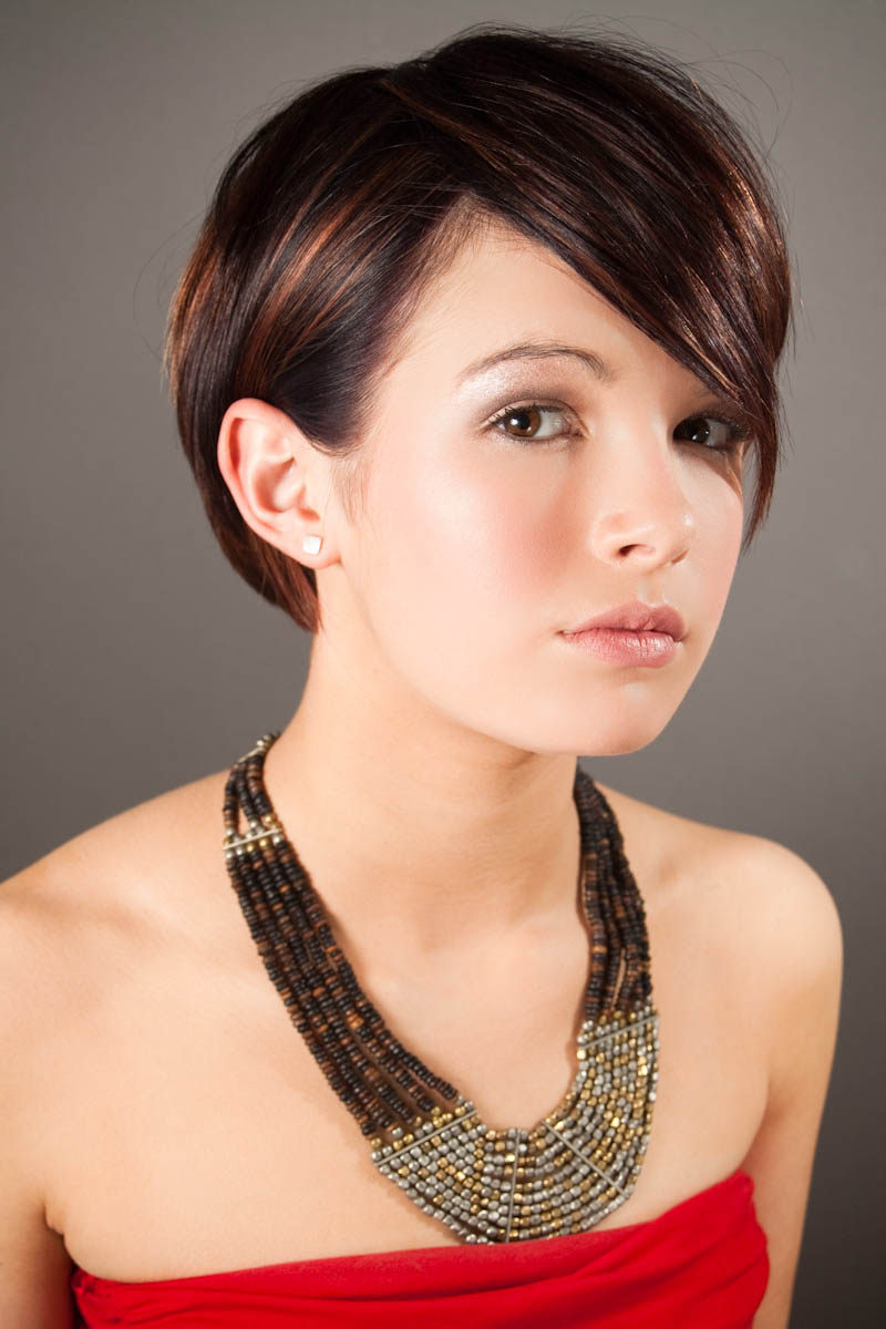 Same Girl, Different Hair Styles Intended For Super Short Haircuts For Girls (View 14 of 25)