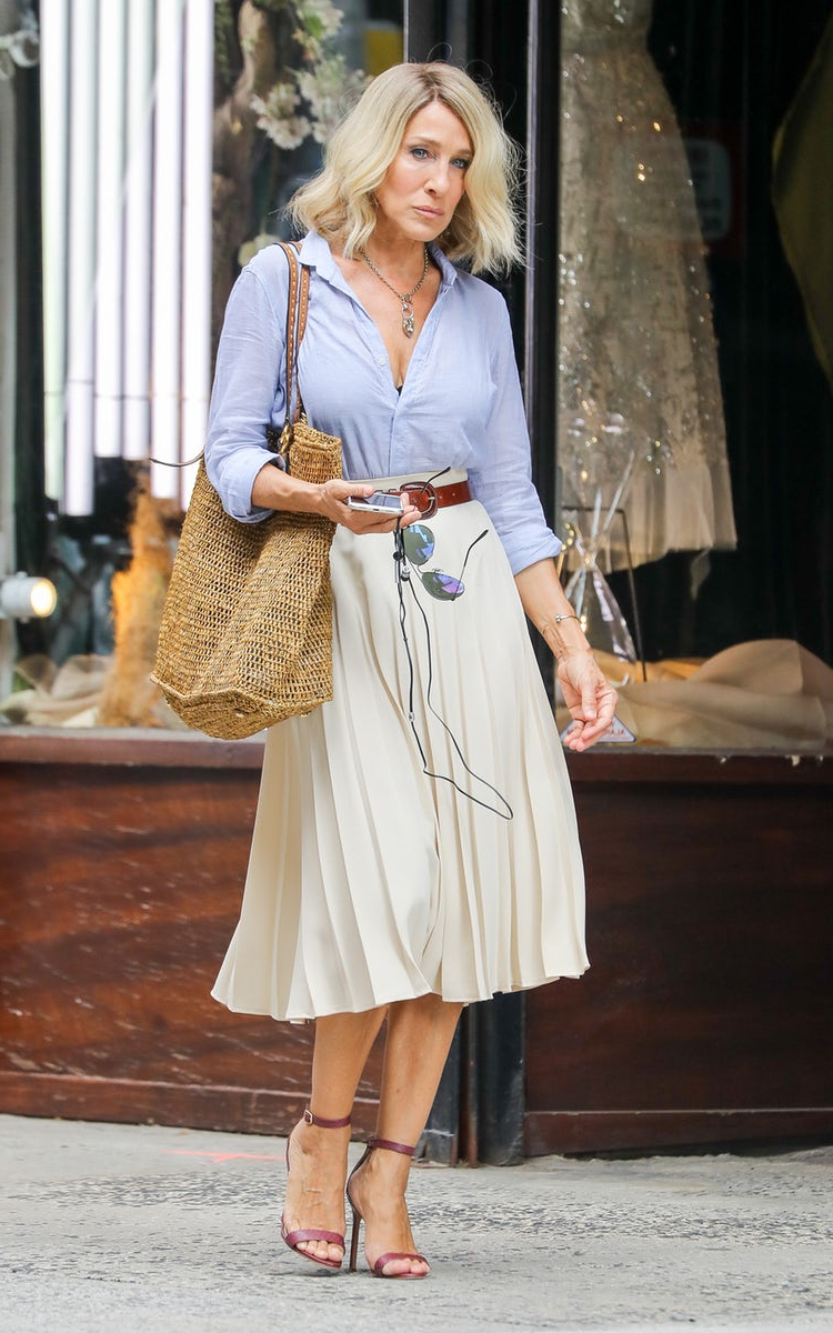 Sarah Jessica Parker Has Cut Off All Her Hair And We Love It – Marie Inside Sarah Jessica Parker Short Hairstyles (View 6 of 25)