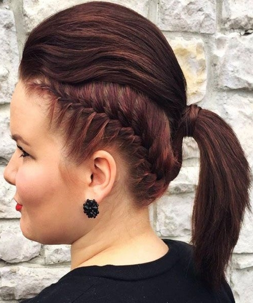 Featured Photo of Sculptural Punky Ponytail Hairstyles