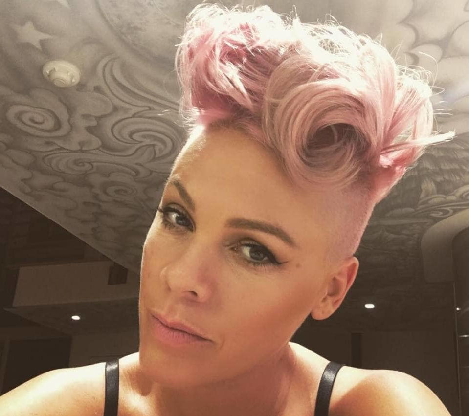 See The Best Short Hairstyles Ever Rockedpop Punk Princess Pink Regarding Pinks Short Haircuts (View 5 of 25)