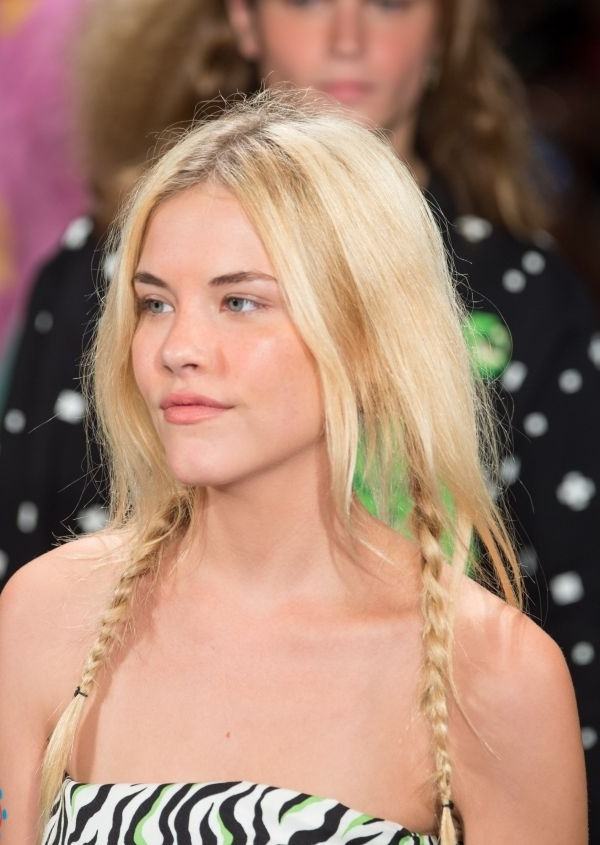 Seeing Double: Braids, Buns And Ponytails Within Blonde Ponytails With Double Braid (View 19 of 25)