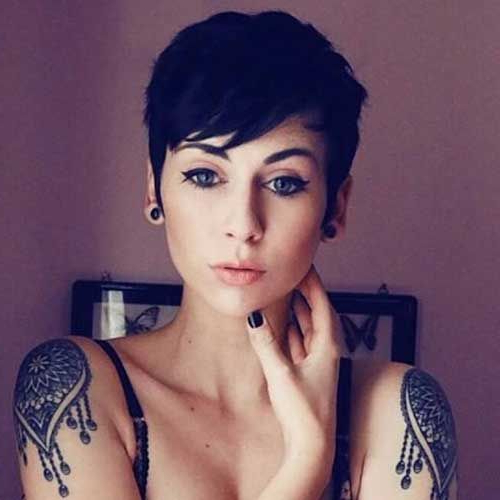 Sexy Pixie Cut … | Hair In 2018 | Hair, Hair Cuts, Short Hair Styles With Regard To Sexy Pastel Pixie Hairstyles (View 21 of 25)
