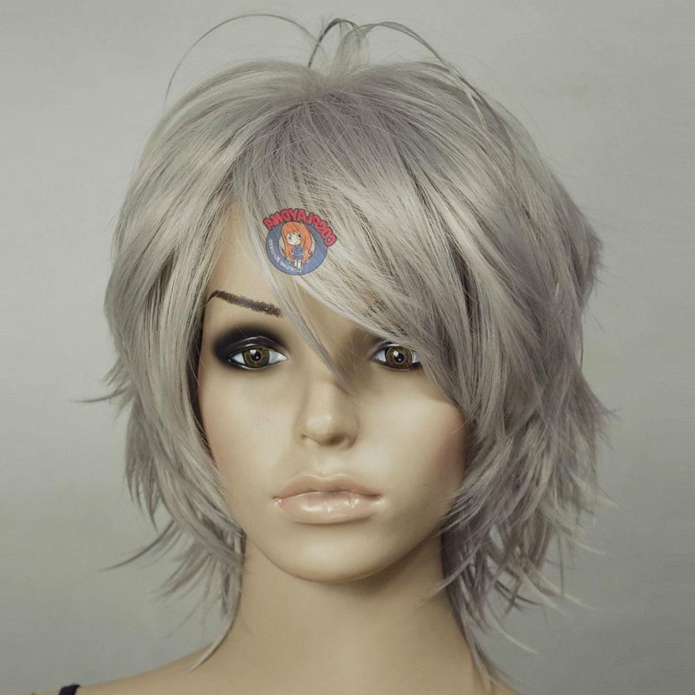 Shag Haircuts For Grey Hair – Google Search | Haircuts In 2018 In Short To Medium Shaggy Hairstyles (View 5 of 25)