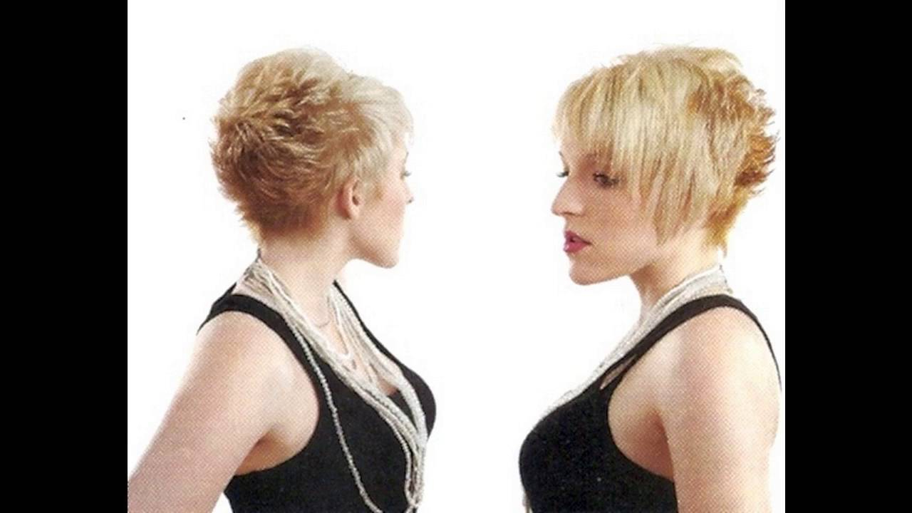 Shaggy Pixie Cut Makes Women Look Cute For Thin Hair Women – Youtube Inside Funky Short Haircuts For Fine Hair (View 25 of 25)